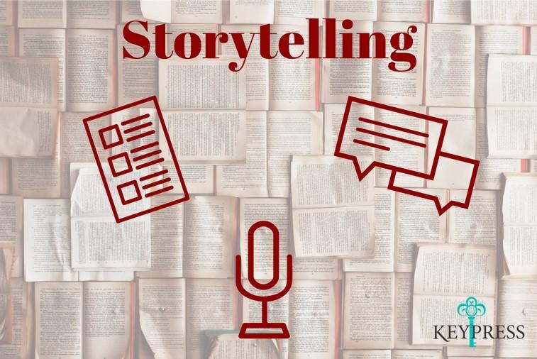 Storytelling imagem linked in Key Press - Storytelling: 3 passos para engajar públicos e alavancar sua marca contando uma história
